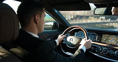 Limousinen-Fahrer