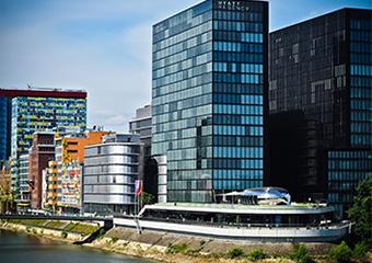 Medienhafen in der Innenstadt