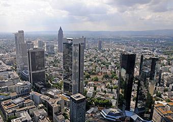 Aussichtsplattform Bankenviertel