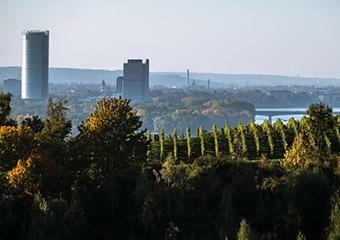 Post Tower vom Siebengebirge