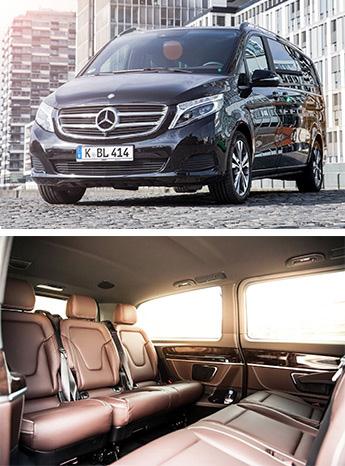 Daimler Benz Van