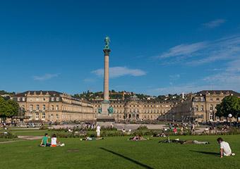 Parkanlage vom Schlossgarten