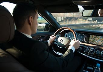 Der Chauffeur mit exklusiven Service