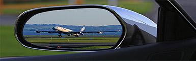 Flugankunft über Flighttrackinsystem